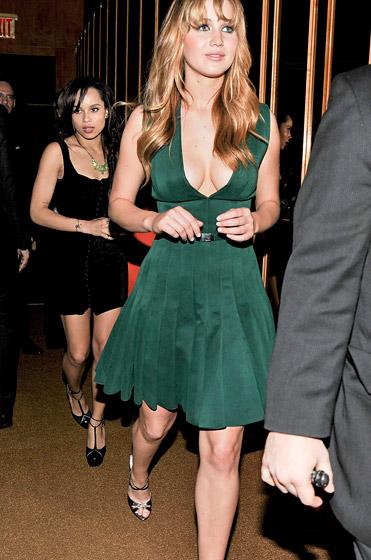 Zoe Kravitz And Jennifer Lawrence